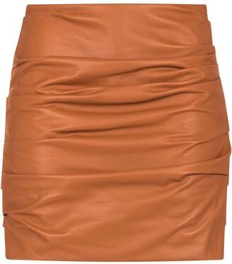 Dolce & Gabbana Gathered Mini Skirt