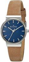 Skagen Women's SKW2191 Ancher Quartz 3 Hand Stainless Steel Light Brown Watch