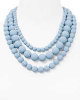 "Aqua Bold Beaded Necklace, 17"" - 100% Exclusive"