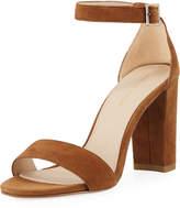 Pelle Moda Bonnie High Suede Sandal