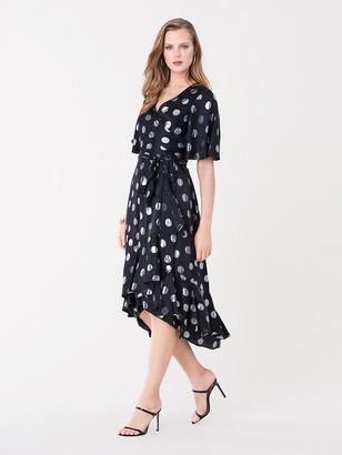 Diane von Furstenberg Sareth Dot Wrap Dress