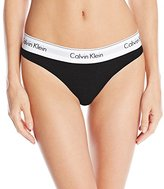 Calvin Klein Women's Modern Cotton Thong Panty