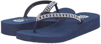 Yellow Box Zemily (Navy) Women's Sandals