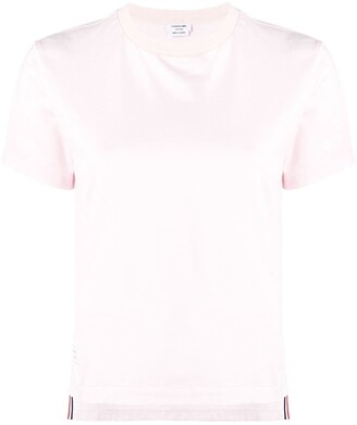 Thom Browne Short Sleeve Relaxed Fit Jersey Tee