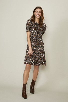 Coast Balloon Sleeve Smock Dress