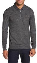 Ted Baker Men's Modern Slim Fit Long Sleeve Jersey Polo