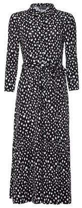 Dorothy Perkins Womens Multi Colour Spot Print Jersey Shirt Dress