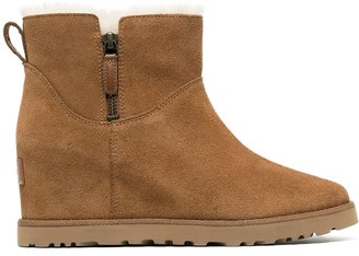 UGG Ankle Wedge Boots