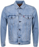 Levi's Levis Denim Trucker Jacket Blue