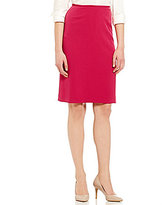 Preston & York Kelly Stretch Crepe Pencil Skirt