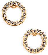 Vera Bradley Pavé Circle Stud Earrings