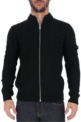 Prada Zipped Knitted Jacket