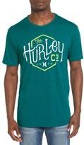 Hurley Men's 'On Us' Graphic Crewneck T-Shirt