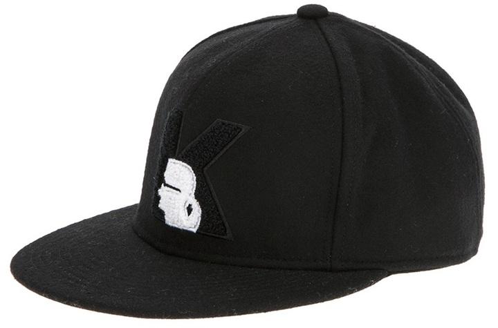 Karl Lagerfeld 'K' cap