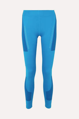 adidas by Stella McCartney + Parley For The Oceans Fitsense+ Climalite Leggings - Blue
