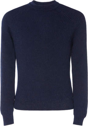 Prada Rib-Knit Alpaca Sweater
