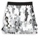 Milly Minis Toddler Girl's Paillette Sequin Skirt