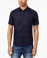 Sean John Men's Dual Pocket Linen Shirt, Created for Macy's