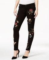 Buffalo David Bitton Faith Floral Black Rinse Skinny Jeans