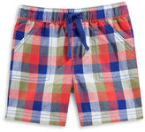 First Impressions Farm to Table Plaid Shorts