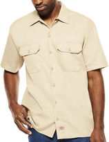 Dickies Short-Sleeve Denim Work Shirt