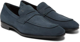 Tod's Gommino Nubuck Penny Loafers