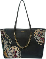 Calvin Klein Hera Embroidered Butterfly Extra-Large Tote