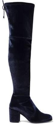 Stuart Weitzman Velvet Over-the-knee Boots