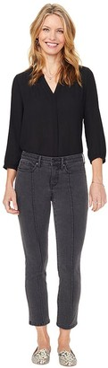 NYDJ Sheri Slim Ankle Jeans with Front Seam Detail