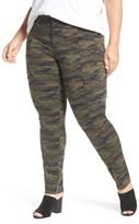 Plus Size Women's Caslon Skinny Cargo Pants