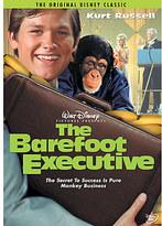 Disney The Barefoot Executive DVD
