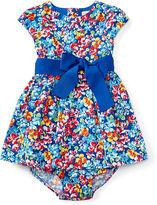 Ralph Lauren Floral Cotton Dress & Bloomer