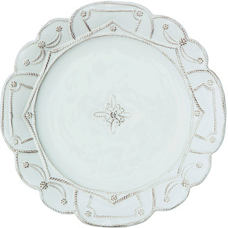 Juliska Jardins du Monde Whitewash Dinner Plate