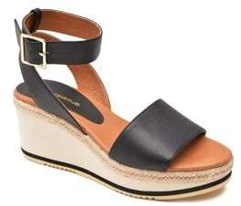 Andre Assous Petra Ankle-Strap Wedge Sandals