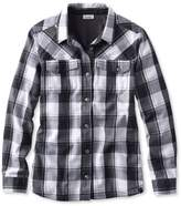 L.L. Bean L.L.Bean PrimaLoft Performance Flannel Shirt, Lined Plaid