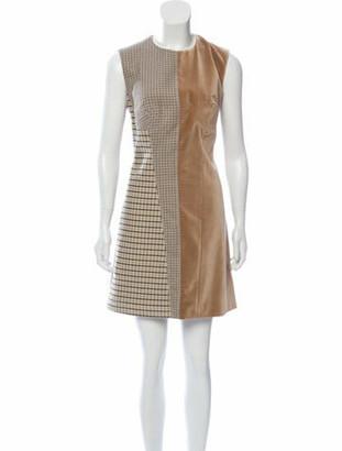 Stella McCartney Sleeveless Mini Dress w/ Tags Tan