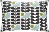 Orla Kiely Early Bird Pillowcase - Granite - Set of 2