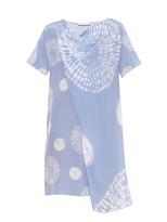 Richard Nicoll Draped tie-dye silk dress