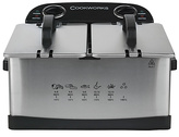 Cookworks Twin Professional Fryer - Stainless Steel