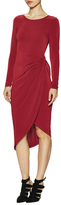 Donna Mizani Asymmetrical Knot Sheath Dress
