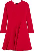 Marni Silk And Wool-blend Dress - Red