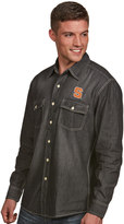 Antigua Men's Syracuse Orange Chambray Shirt