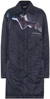 Undercover Printed satin coat