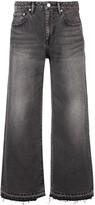 John Elliott cropped boyfriend jeans