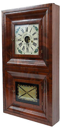 One Kings Lane Vintage 19th Century American Bristol Wall Clock - La Maison Supreme