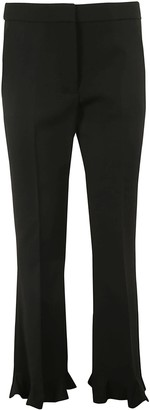 Stella McCartney Ruffled Tailored Trousers