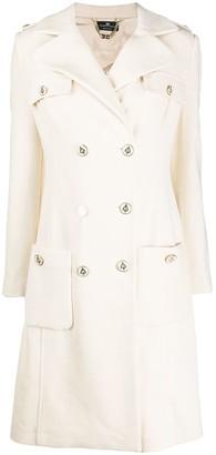 Elisabetta Franchi Military Style Coat