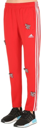 Tiger In The Rain Embellished Bows Vintage Track Pants
