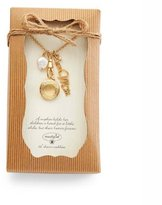 "Mud Pie 32"" Mom Charm Necklace"