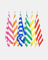 Set of 6 Fast Drying & Compact Beach Towels - L 160cm